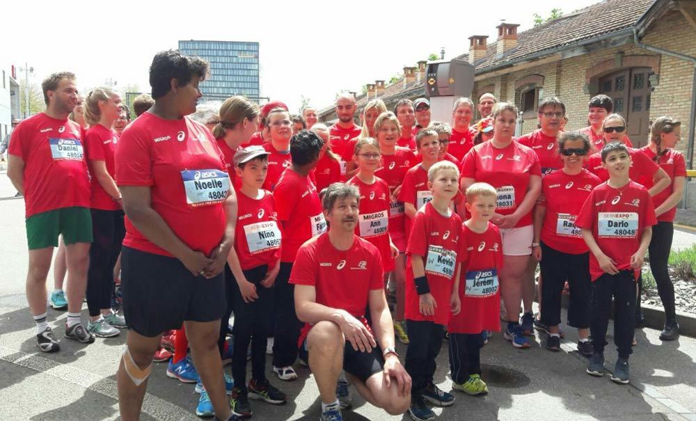 Special Olympics am GP von Bern