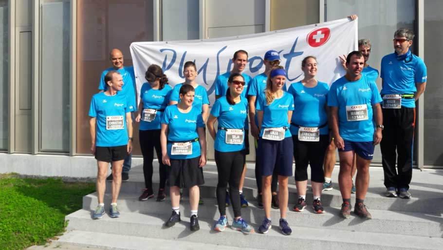 Mit PluSport Schweiz am Marathon in Luzern über 10 km