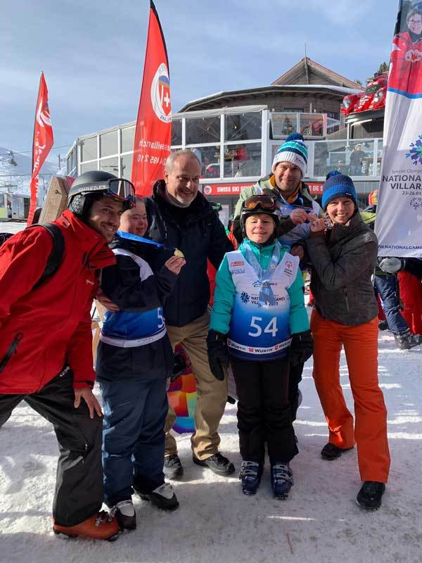 National Winter Games 2020 in Villars